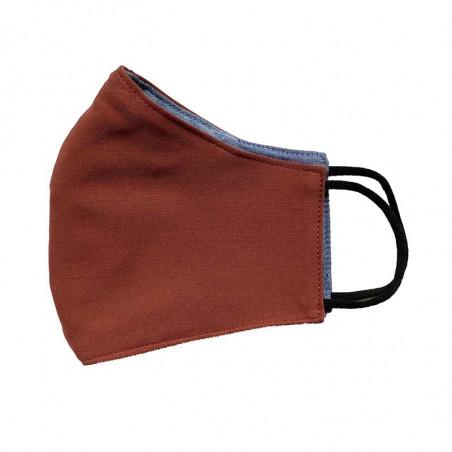 FacemaskN-mundbind-ansigtsmaske - brun comfort-maske