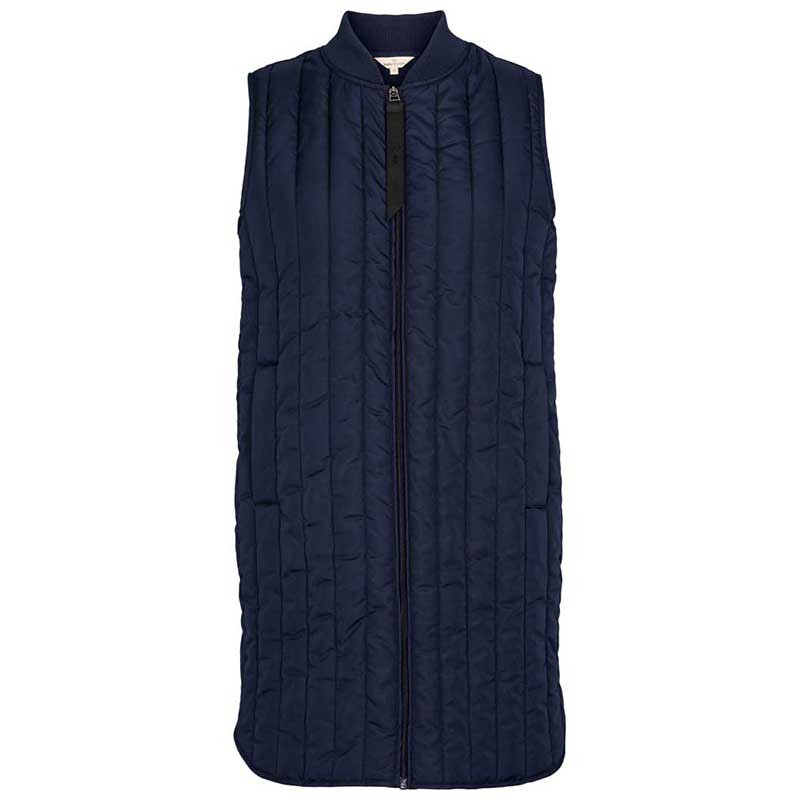 Basic apparel vest, louisa, navy fra basic apparel på superlove