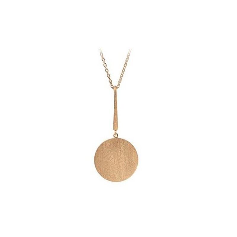 pernille corydon – Pernille corydon halskæde, long coin, guld på superlove