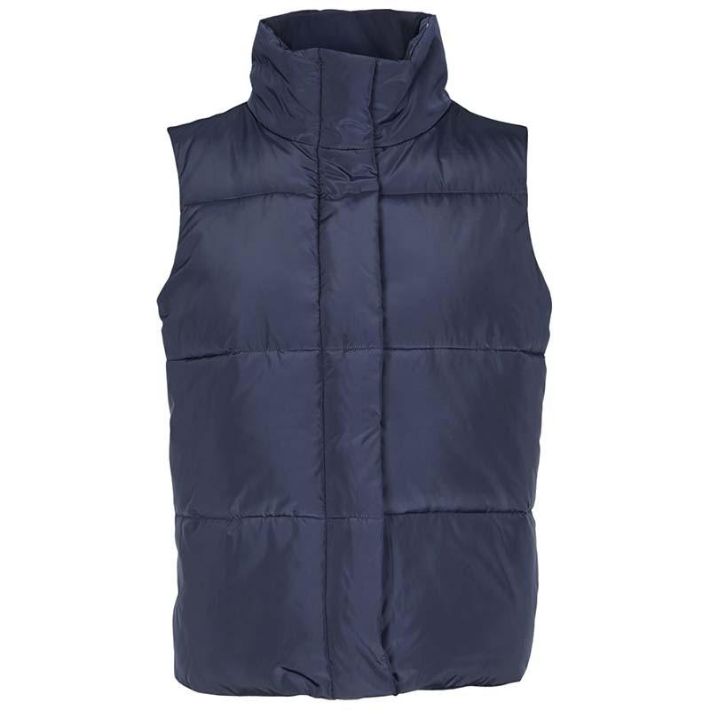 basic apparel – Basic apparel vest, dagmar, navy fra superlove
