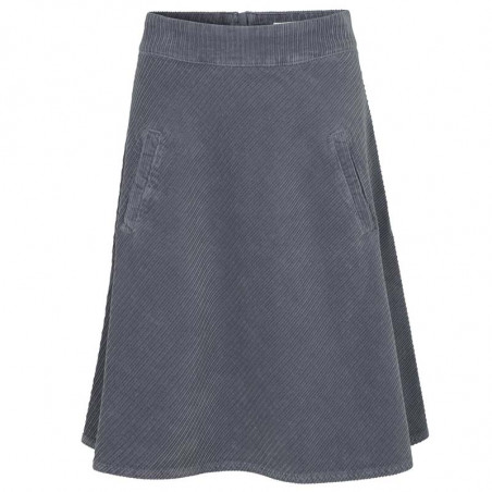 Mads Nørgaard Nederdel, Stelly Club Cord, Grey Skirt  dame