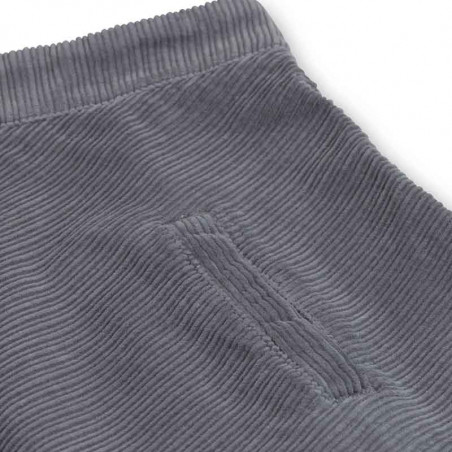 Mads Nørgaard Nederdel, Stelly Club Cord, Grey Skirt  dame  detaljer