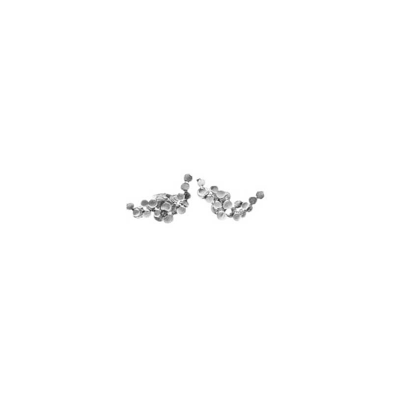 pendulum – Pendulum øreringe, foam small, sølv fra superlove