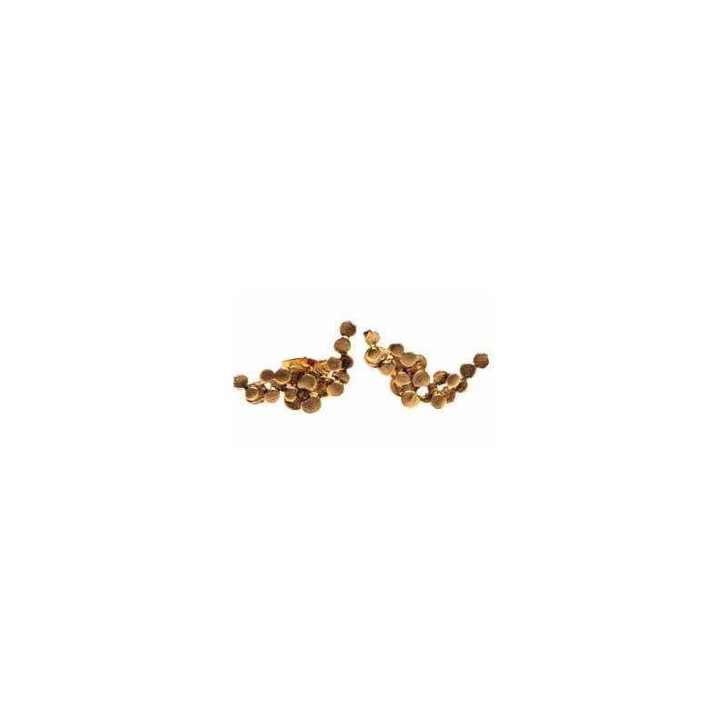 pendulum Pendulum øreringe, foam small, guld på superlove