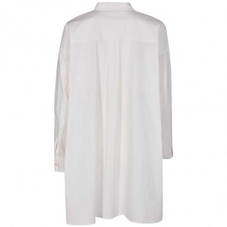 Nümph Skjorte, Nubriar, Bright White shirt dame bagfra bagpå