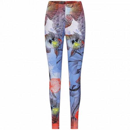 Hunkøn Bukser, Wana Yoga Legging, Fish Art Print dame