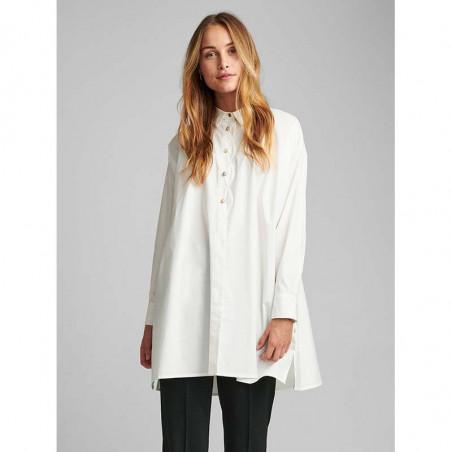 Nümph Skjorte, Nubriar, Bright White shirt dame Numph shirt white