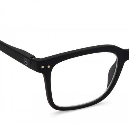 Izipizi Briller, L Reading, Black Izipizi læsebriller detalje