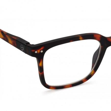 Izipizi Briller, L Reading, Tortoise izipizi læsebriller detalje