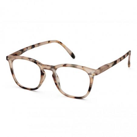 Izipizi Briller, E Reading, Light Tortoise Izipizi læsebriller fra siden
