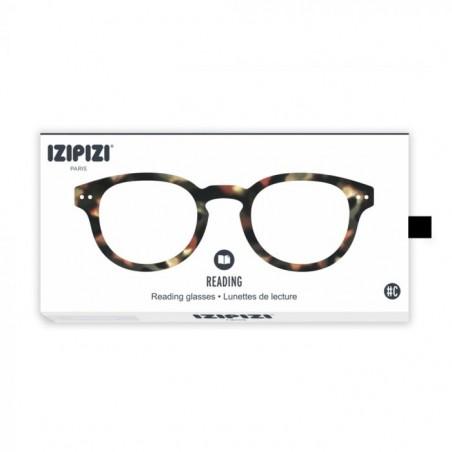Izipizi Briller, C Reading, Tortoise Soft Izipizi unisex læsebriller emballage