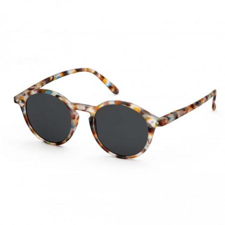Izipizi Solbriller, D Sun, Blue Tortoise unisex briller fra siden