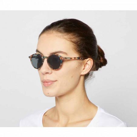 Izipizi Solbriller, D Sun, Blue Tortoise unisex briller dame