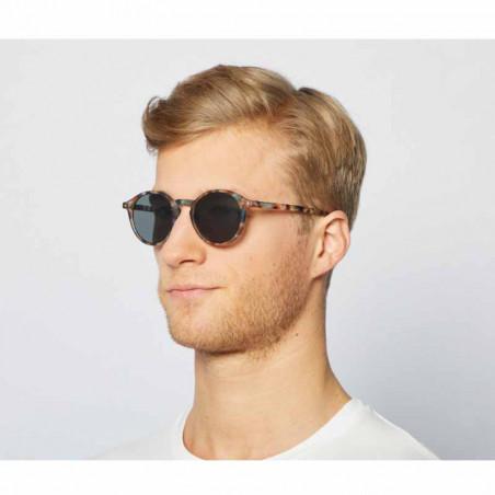 Izipizi Solbriller, D Sun, Blue Tortoise unisex briller herremodel