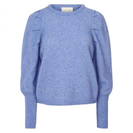 Lollys Laundry Strik, Priscilla Jumper, Light Blue Lollys Laundry Pullover