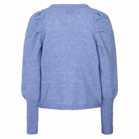 Lollys Laundry Strik, Priscilla Jumper, Light Blue Lollys Laundry Pullover ryg