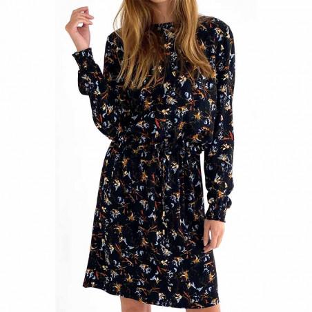 Minus Kjole, Jessica. Graphic Winter Garden Minus fashion look