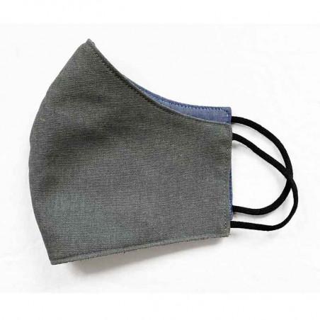 FacemaskN-mundbind-ansigtsmaske - støvet grå comfort-maske facemask