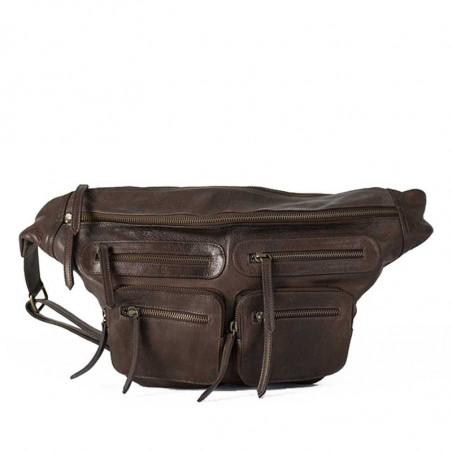 ReDesigned By Dixie Taske, Ly Urban Washed bag, Brown - stor bumbag