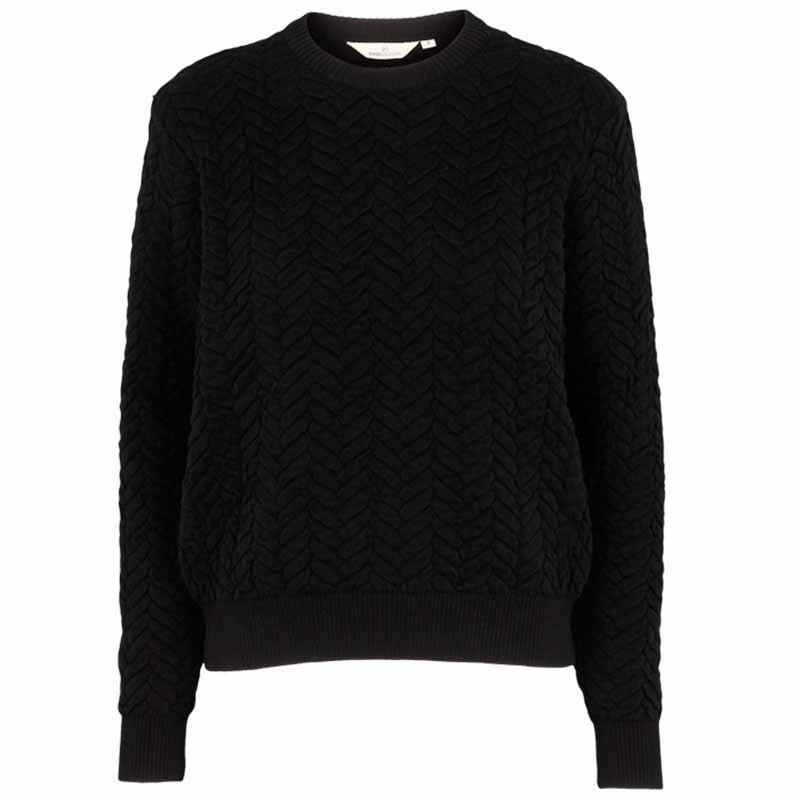 Basic Apparel Strik, Tilde Sweater, Black