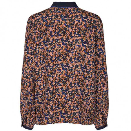Nümph Skjorte, Nubrynna, Dazzling Blue Numph bluse ryg