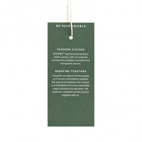 Minus Bluse, Mersin sort pullover i Bæredygtig Ecovero viscose