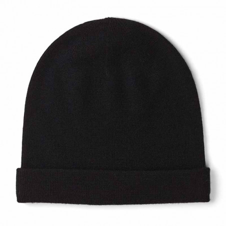 Basic Apparel Hue, Vera Beanie, Black merino uld