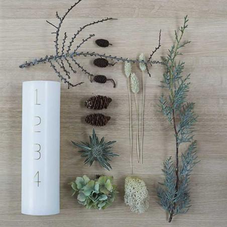 Kunstindustrien Adventslys, 7x24 cm,  - Gør det selv Adventsdekoration trin 1