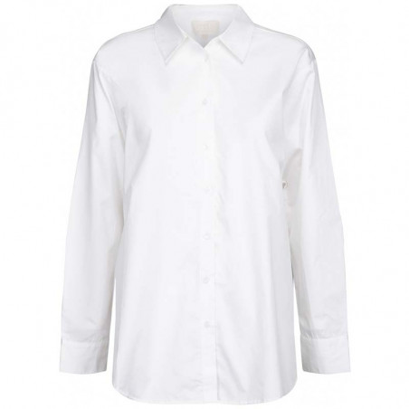 Minus Skjorte, Vaia Oversize, White Minus fashion