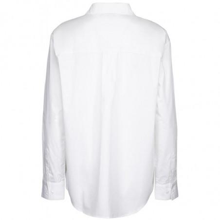 Minus Skjorte, Vaia Oversize, White bagfra