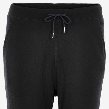 Six Ames Sweatpants, Wilja, Black six ames tøj detalje