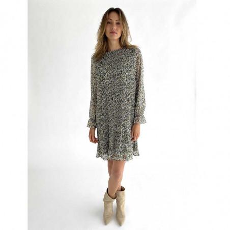 Minus Kjole, Rikka, Greenery Print Minus tøj kjole på model