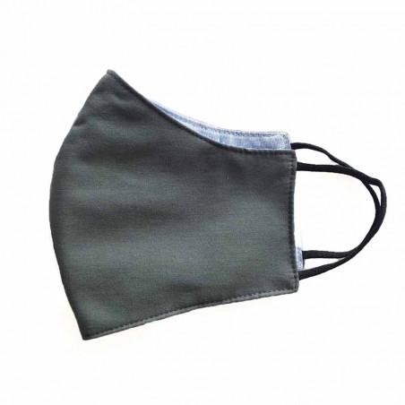 FacemaskN-mundbind-ansigtsmaske - petroleum grå comfort-maske facemask