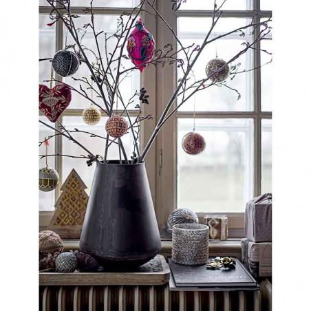 Bloomingville Julekugler 3 stk, Grøn Juledekoration