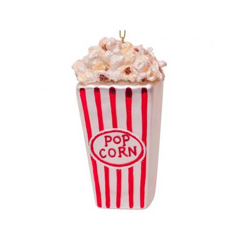 Vondels Julepynt, Popcorn, Red/White