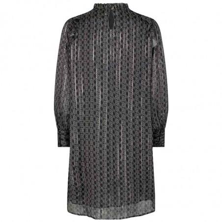 Mos Mosh Kjole, Randi Tile dress, Black ryg