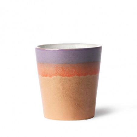 HK Living Krus, Ceramic 70's, Sunset HK living dk keramik krus