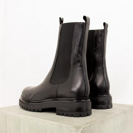 Bukela Combat Støvler, Teo, Black bagfra