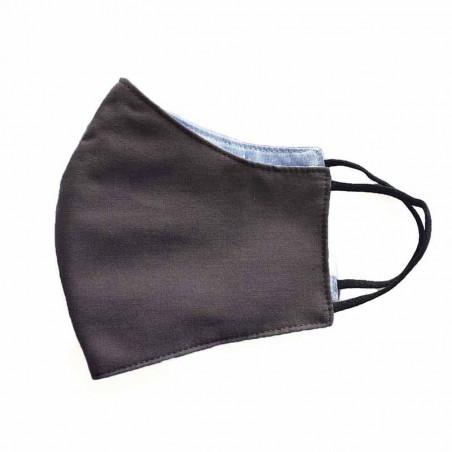 FacemaskN-mundbind-ansigtsmaske - antrasit black comfort-maske facemask