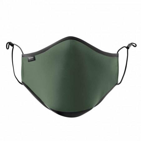 Kowikowi - facemask Forest Green comfort-maske facemask CE mærket mundbind