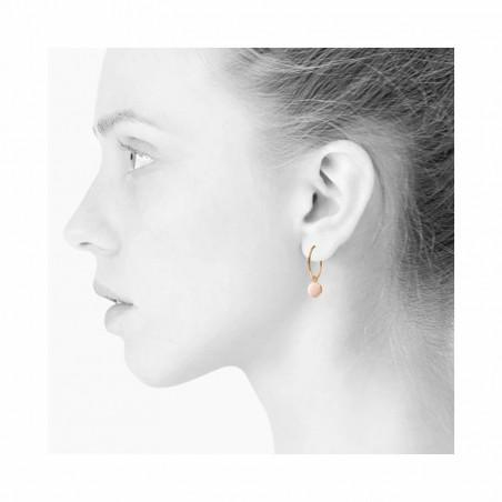 Scherning Øreringe forhandlere, Spo stor, Nude Scherning smykker på model