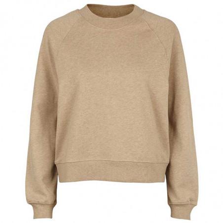 Basic Apparel Sweatshirt, Maje, Camel Melange Basic apparel bluse