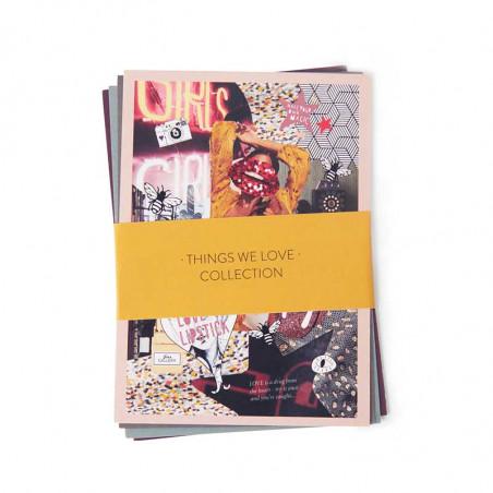 At Piece Puslespil 1000 brk, Love'N Lipstick postkort