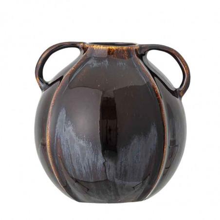 Bloomingville Vase, Rund Stentøj, Brun