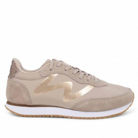 Woden Sneakers, Olivia Metallic, Clouds woden sko dame woden