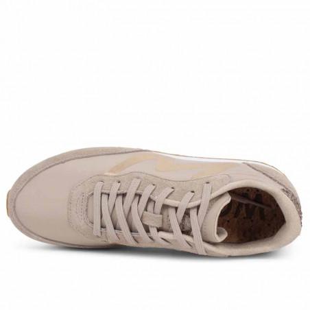 Woden Sneakers, Olivia Metallic, Clouds woden sko dame woden oppefra