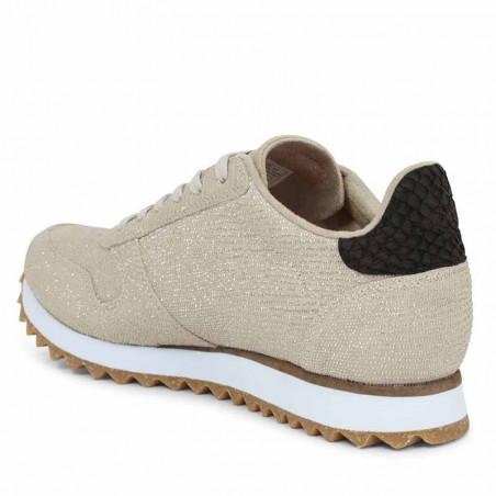 Woden Sneakers, Ydun Pearl II, Pelican  fra siden.
