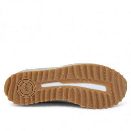 Woden Sneakers, Ydun Pearl II, Pelican Naturgummi sål