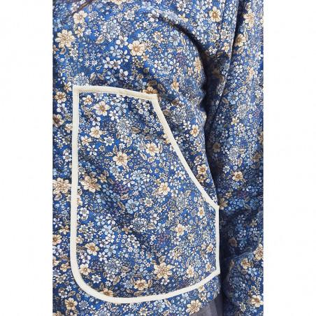Lollys Laundry Jakke, Mason, Dark Navy Lollys Laundry Quiltet jakke lomme detalje