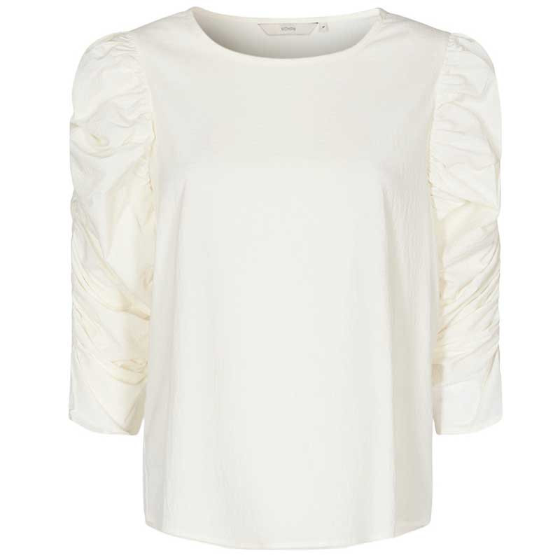Nümph Bluse, Nufiona, Bright White, Numph tøj
